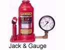 Bottle Jacks and Gauge