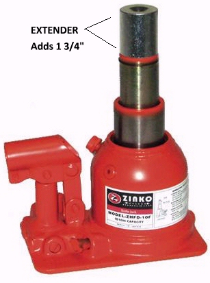 Zinko Telescoping Bottle Jack